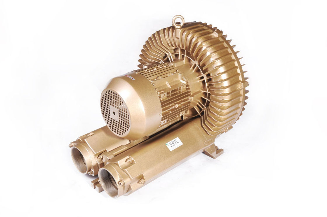 Aluminium Alloy Regenerative Air Blower for Water Treatment 12.5kW Single Stage